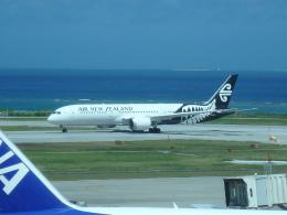 まっつーさんが、那覇空港で撮影したニュージーランド航空 787-9の航空フォト(飛行機 写真・画像)