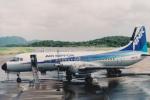 kumagorouさんが、対馬空港で撮影したエアーニッポン YS-11A-500の航空フォト(写真)