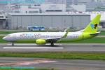 Chofu Spotter Ariaさんが、福岡空港で撮影したジンエアー 737-8B5の航空フォト(飛行機 写真・画像)