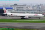 Chofu Spotter Ariaさんが、福岡空港で撮影した香港ドラゴン航空 A330-343Xの航空フォト(飛行機 写真・画像)