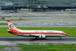 うめやしきさんが、羽田空港で撮影した日本トランスオーシャン航空 737-446の航空フォト(写真)