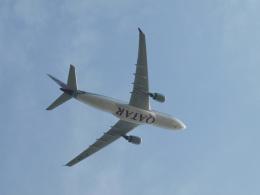 たぁさんが、関西国際空港で撮影したカタール航空 A330-202の航空フォト(飛行機 写真・画像)
