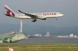 lonely-wolfさんが、関西国際空港で撮影したカタール航空 A330-202の航空フォト(飛行機 写真・画像)