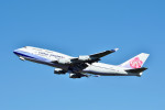 Dojalanaさんが、新千歳空港で撮影したチャイナエアライン 747-409の航空フォト(飛行機 写真・画像)