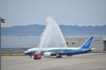 金魚さんが、中部国際空港で撮影したボーイング 787-8 Dreamlinerの航空フォト(飛行機 写真・画像)