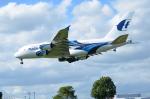 ひでかずさんが、ロンドン・ヒースロー空港で撮影したマレーシア航空 A380-841の航空フォト(写真)