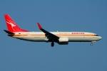 RUSSIANSKIさんが、シンガポール・チャンギ国際空港で撮影したカンタス航空 737-838の航空フォト(飛行機 写真・画像)