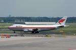 Gambardierさんが、アムステルダム・スキポール国際空港で撮影したマーティンエアー 747-21AC/SCDの航空フォト(写真)