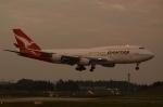 木人さんが、成田国際空港で撮影したカンタス航空 747-438の航空フォト(飛行機 写真・画像)
