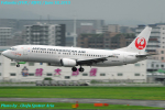 Chofu Spotter Ariaさんが、福岡空港で撮影した日本トランスオーシャン航空 737-446の航空フォト(飛行機 写真・画像)