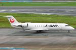 Chofu Spotter Ariaさんが、福岡空港で撮影したジェイ・エア CL-600-2B19 Regional Jet CRJ-200ERの航空フォト(飛行機 写真・画像)