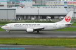 Chofu Spotter Ariaさんが、福岡空港で撮影した日本トランスオーシャン航空 737-4Q3の航空フォト(飛行機 写真・画像)