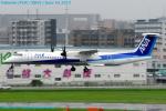 Chofu Spotter Ariaさんが、福岡空港で撮影したANAウイングス DHC-8-402Q Dash 8の航空フォト(写真)