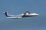 Koenig117さんが、中部国際空港で撮影したANAウイングス DHC-8-402Q Dash 8の航空フォト(写真)