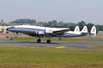 フェアフォード空軍基地 - RAF Fairford [FFD/EGVA]で撮影されたスーパーコンステレーション飛行協会 - Super Constellation Flyers Associationの航空機写真