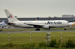 tsubasa0624さんが、成田国際空港で撮影したジェット・アジア・エアウェイズ 767-233/ERの航空フォト(写真)