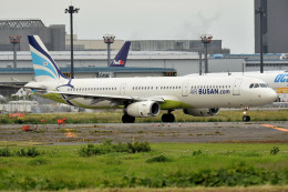 tsubasa0624さんが、成田国際空港で撮影したエアプサン A321-231の航空フォト(飛行機 写真・画像)