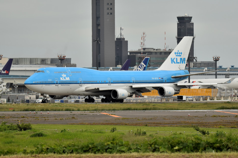 tsubasa0624さんのKLMオランダ航空 Boeing 747-400 (PH-BFB) 航空フォト