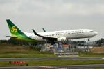 tsubasa0624さんが、成田国際空港で撮影した春秋航空日本 737-86Nの航空フォト(飛行機 写真・画像)