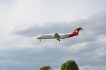 ひでかずさんが、ロンドン・ヒースロー空港で撮影したヘルベティック・エアウェイズ 100の航空フォト(飛行機 写真・画像)
