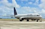 Dojalanaさんが、アントニオ・B・ウォン・パット国際空港で撮影したユナイテッド航空 737-824の航空フォト(写真)