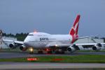SGR RTさんが、成田国際空港で撮影したカンタス航空 747-438の航空フォト(飛行機 写真・画像)