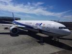 Y.Hさんが、シアトル タコマ国際空港で撮影した全日空 777-381/ERの航空フォト(写真)