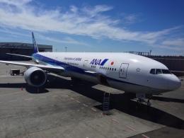 Y.Hさんが、シアトル タコマ国際空港で撮影した全日空 777-381/ERの航空フォト(飛行機 写真・画像)