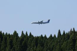 Wolfy Sugawaraさんが、秋田空港で撮影した全日空 DHC-8-402Q Dash 8の航空フォト(飛行機 写真・画像)