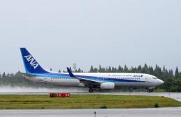 Dreamer-K'さんが、秋田空港で撮影した全日空 737-881の航空フォト(飛行機 写真・画像)
