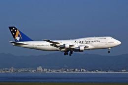 Gambardierさんが、関西国際空港で撮影したアンセット・オーストラリア航空 747-312の航空フォト(飛行機 写真・画像)