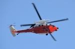 青い翼に鎧武者マークの!さんが、市ヶ谷地区で撮影した海上自衛隊 UH-60Jの航空フォト(写真)