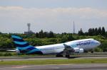 T.Sazenさんが、成田国際空港で撮影したプルマントゥール・エア 747-446の航空フォト(写真)