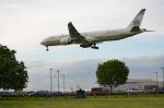 ひでかずさんが、ロンドン・ヒースロー空港で撮影したエティハド航空 777-3FX/ERの航空フォト(飛行機 写真・画像)