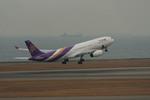 nknD200さんが、中部国際空港で撮影したタイ国際航空 A330-343Xの航空フォト(写真)