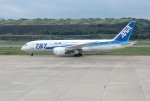 mojioさんが、長崎空港で撮影した全日空 787-8 Dreamlinerの航空フォト(飛行機 写真・画像)