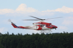ATOMさんが、帯広空港で撮影した札幌市消防局消防航空隊 412EPの航空フォト(飛行機 写真・画像)