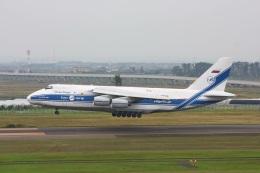 mio&amiパパさんが、仙台空港で撮影したヴォルガ・ドニエプル航空 An-124-100 Ruslanの航空フォト(写真)