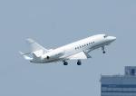 じーく。さんが、羽田空港で撮影したMacau Jet International Co. Ltd.  Falcon 2000の航空フォト(写真)