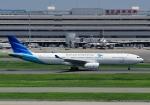 じーく。さんが、羽田空港で撮影したガルーダ・インドネシア航空 A330-343Xの航空フォト(写真)
