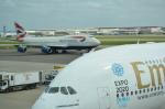 ひでかずさんが、ロンドン・ヒースロー空港で撮影したブリティッシュ・エアウェイズ 747-436の航空フォト(飛行機 写真・画像)