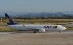 kumagorouさんが、米子空港で撮影したスカイマーク 737-82Yの航空フォト(飛行機 写真・画像)