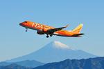☆NSさんが、静岡空港で撮影したフジドリームエアラインズ ERJ-170-200 (ERJ-175STD)の航空フォト(写真)