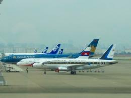 空飛ぶぽん吉☆さんが、羽田空港で撮影したタイ王国空軍 A319-115CJの航空フォト(飛行機 写真・画像)