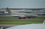 ひでかずさんが、ロンドン・ヒースロー空港で撮影したガルフ・エア A330-243の航空フォト(飛行機 写真・画像)