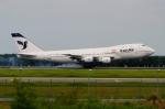 RUSSIANSKIさんが、クアラルンプール国際空港で撮影したイラン航空 747-230BMの航空フォト(飛行機 写真・画像)