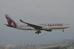 はみんぐばーどさんが、関西国際空港で撮影したカタール航空 A330-202の航空フォト(写真)