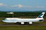 Dojalanaさんが、新千歳空港で撮影したキャセイパシフィック航空 747-467の航空フォト(写真)