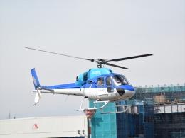 Mizuki24さんが、東京ヘリポートで撮影したエクセル航空 AS355N Ecureuil 2の航空フォト(飛行機 写真・画像)