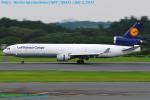 Chofu Spotter Ariaさんが、成田国際空港で撮影したルフトハンザ・カーゴ MD-11Fの航空フォト(写真)